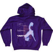 Unity Virtual Reflection Purple Hoodie - UnityWorldWild