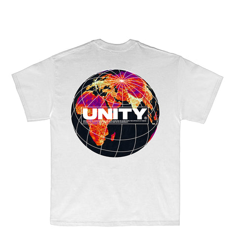Unity World White T-Shirt - UnityWorldWild
