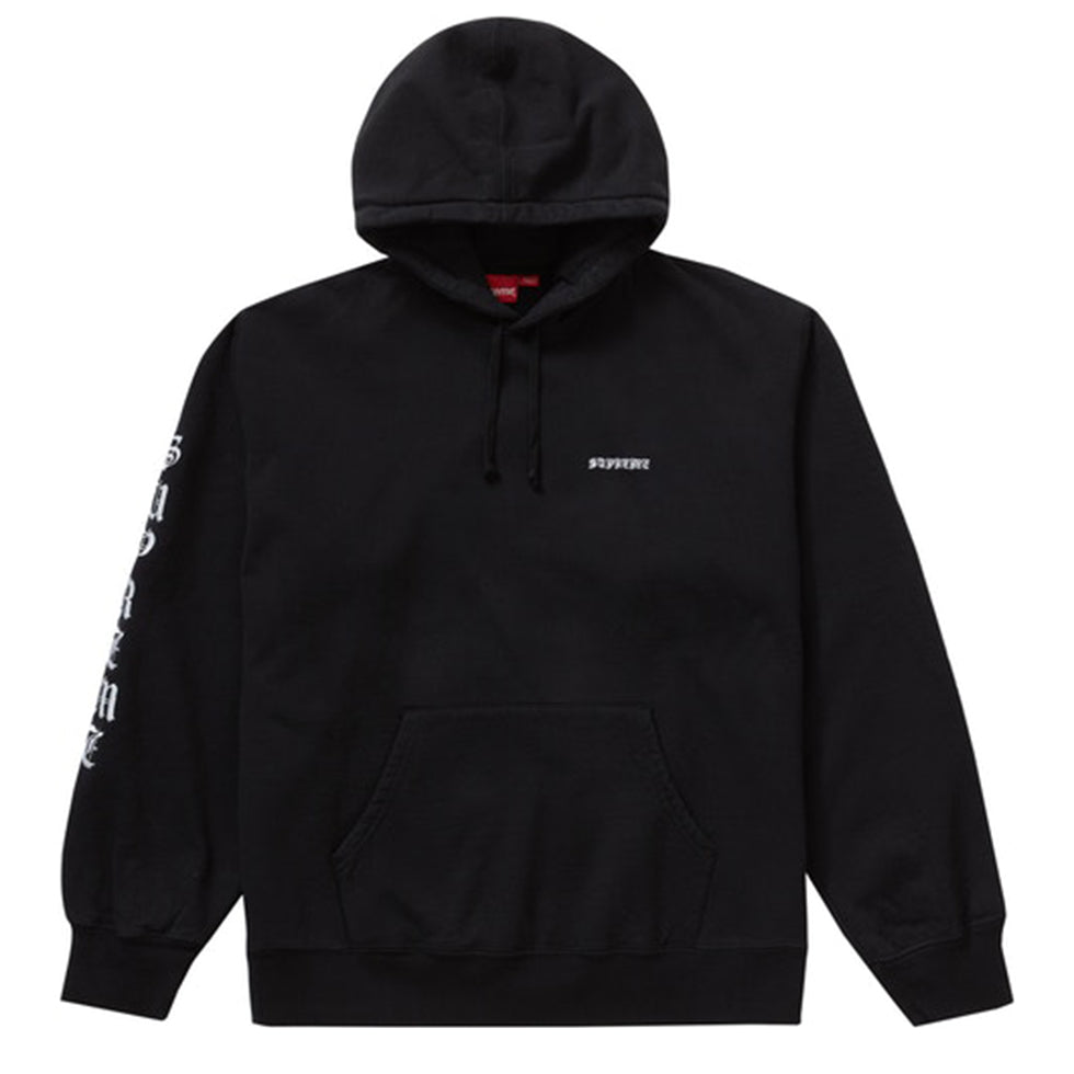 Supreme Peace Hooded Black Sweatshirt - UnityWorldWild