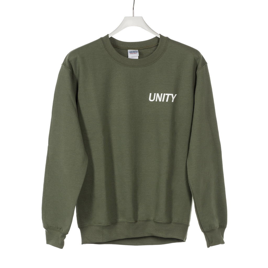 Unity Circle Logo Green Army