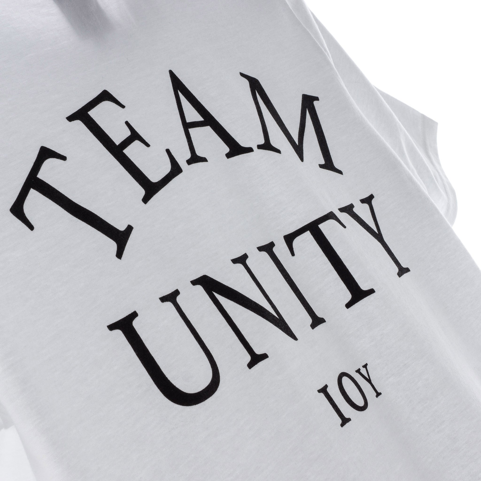 Unity 10 Years Logo T-Shirt White