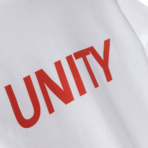 Unity Classic Logo T-Shirt White / Red