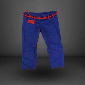 MA1 Female Premium Comp Gi Pants - Blue, Red & White