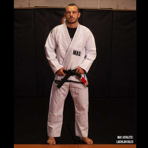MA1 Premium Comp Gi - White, Navy & Grey