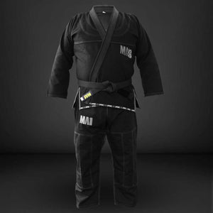 MA1 Premium Competition Series Kimono - Black & Grey