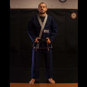 MA1 Premium Comp Gi - Navy, Grey & White