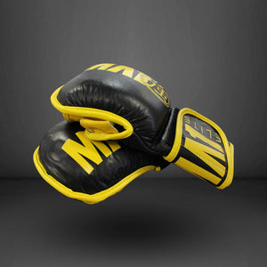 MA1 Elite Leather MMA Sparring Gloves