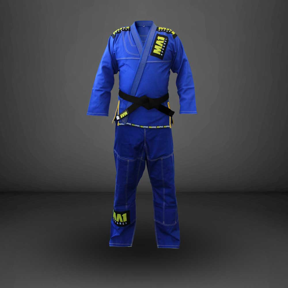 MA1 Ultra Light Gi - Blue (contrast stitching)