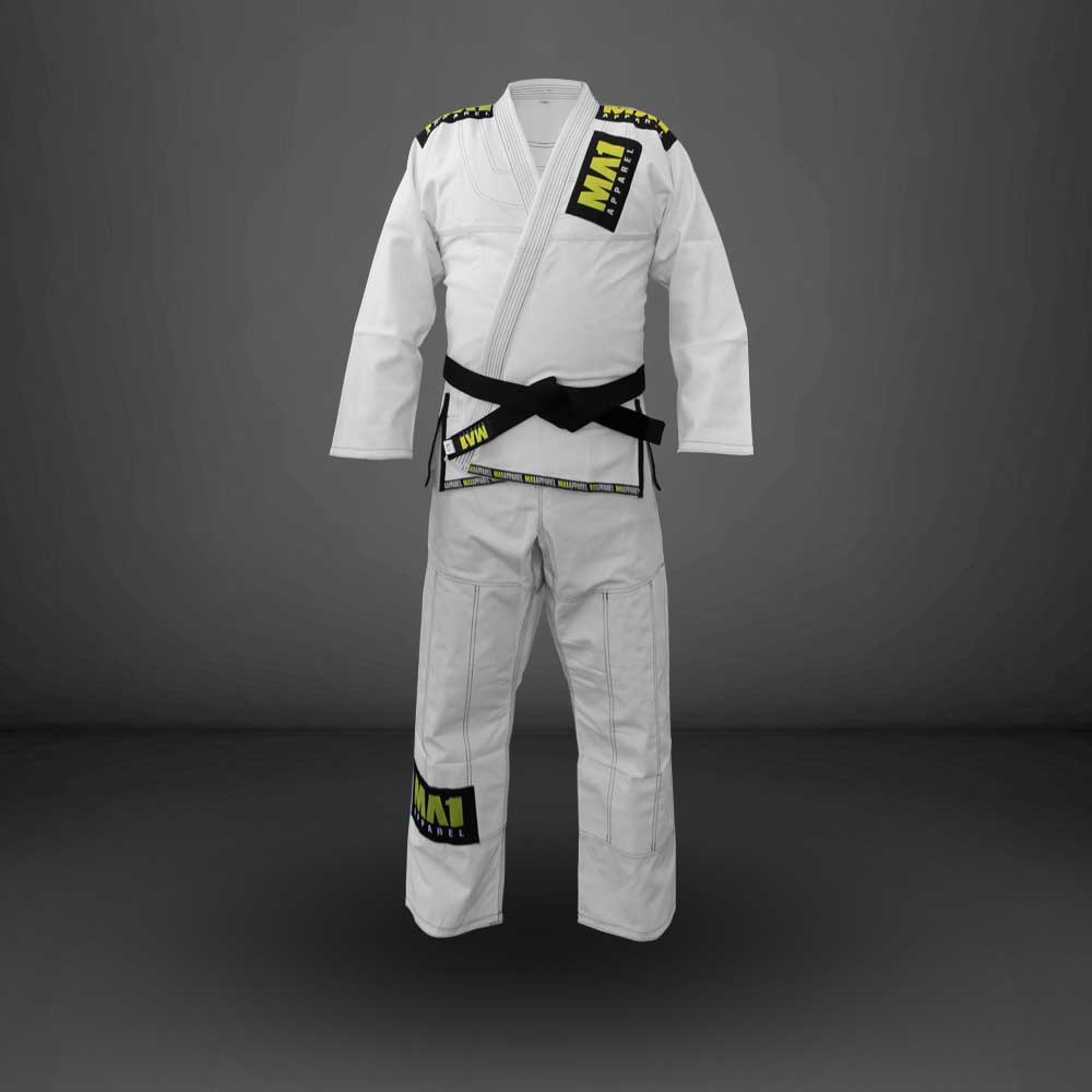 MA1 Ultra Light Gi - White (contrast stitching)