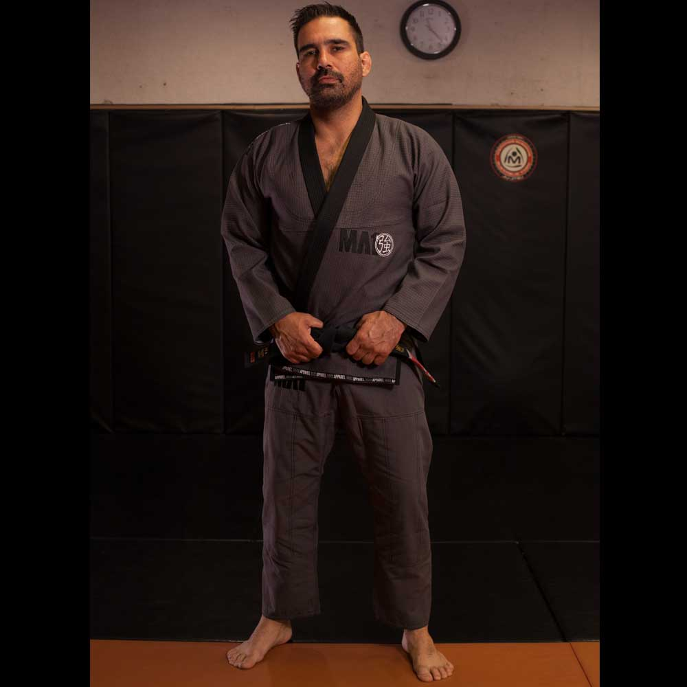 MA1 Premium Comp Gi - Grey, Black & White