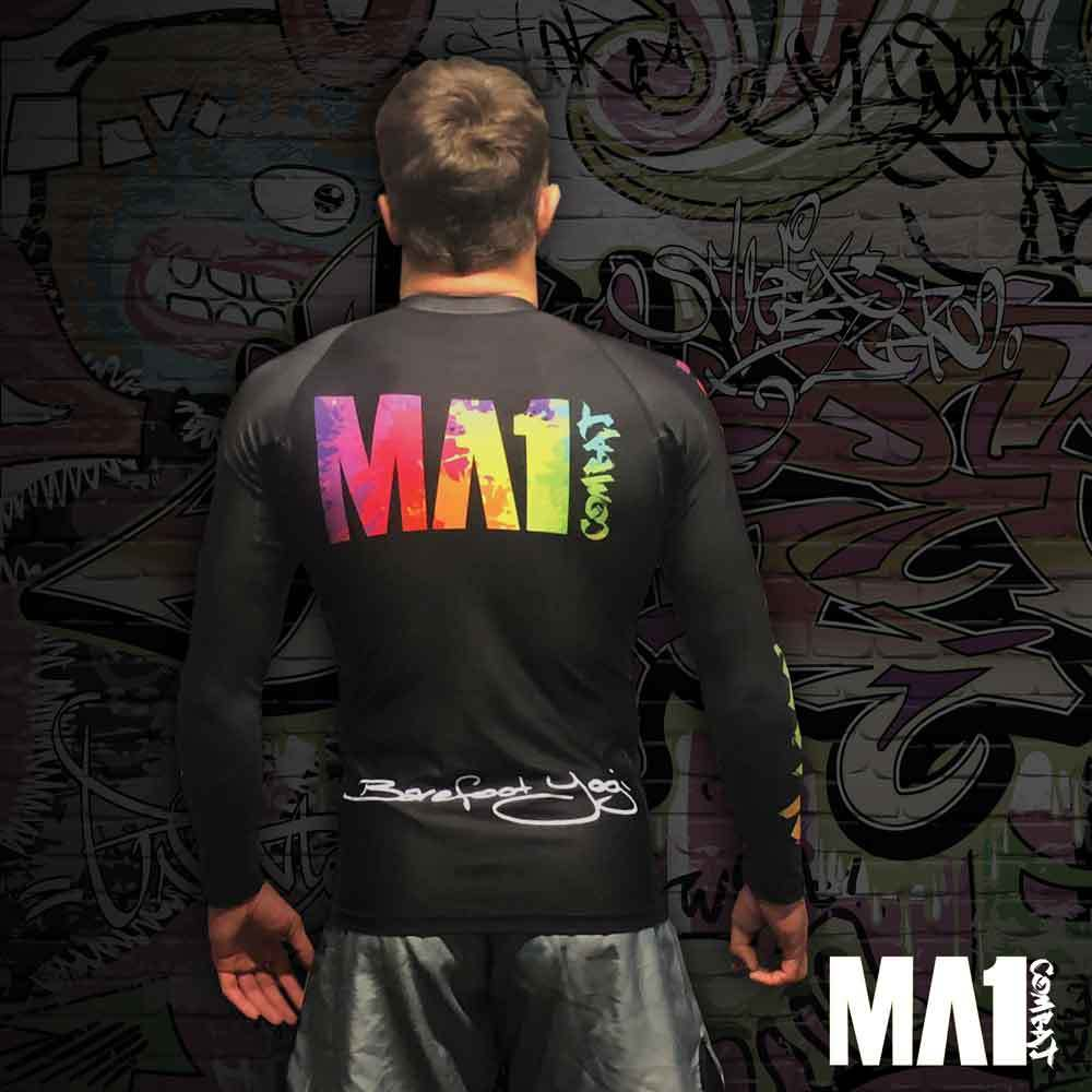 MA1 Long Sleeve Rash Guards - Barefoot Yogi - Model: Craig Jones