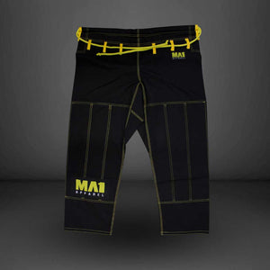 MA1 Ultra Light Gi Pants - Black (contrast stitching)