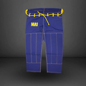 MA1 Premium Comp Gi Pants - Blue & Yellow