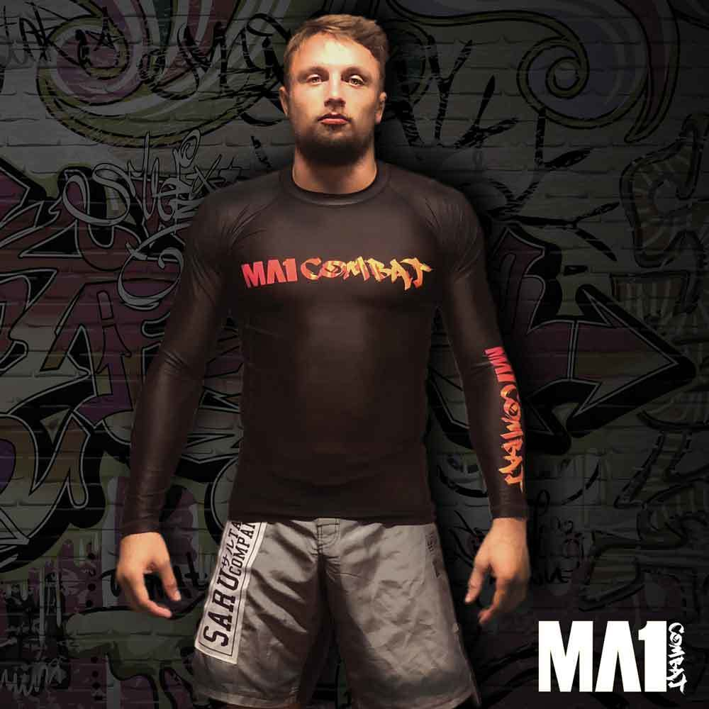 MA1 Combat Long Sleeve Rash Guard