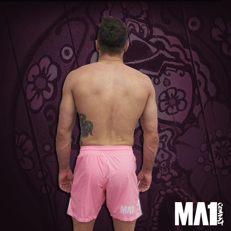 MA1 Combat Basic Pink MMA Shorts - Craig Jones