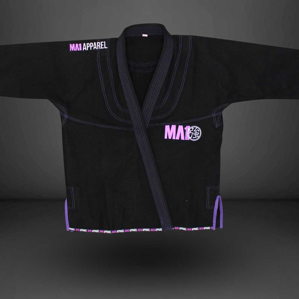 MA1 Premium Comp Gi - Black, Purple & White