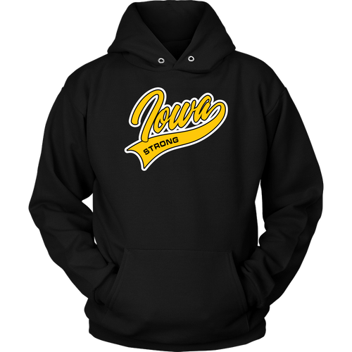 Iowa Strong Unisex Hoodie - Extended Sizes Available