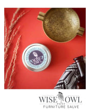 Load image into Gallery viewer, Wise Owl Furniture Salve 8oz