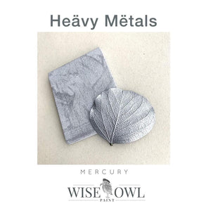 Wise Owl Heavy Metals Metallic Gilding Paint (8oz)