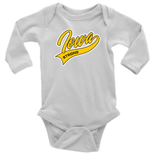 Load image into Gallery viewer, Iowa Strong Long Sleeve Baby Bodysuit
