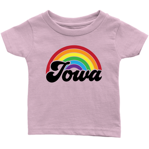 Iowa Rainbow Infant T-Shirt