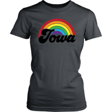 Load image into Gallery viewer, Iowa Rainbow Womens Shirt - Extended Sizes Available