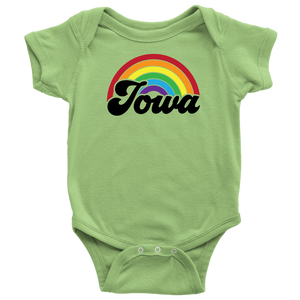 Iowa Rainbow Baby Bodysuit