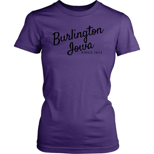 Burlington Iowa - Extended Sizes