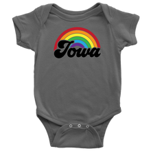 Load image into Gallery viewer, Iowa Rainbow Baby Bodysuit