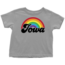 Load image into Gallery viewer, Iowa Rainbow Toddler T-Shirt