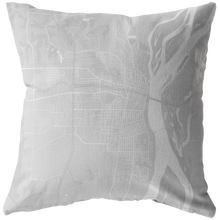 Load image into Gallery viewer, Burlington Map Pillow
