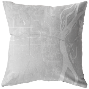 Burlington Map Pillow