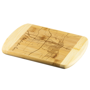 Burlington Map Cutting Board