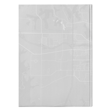 Load image into Gallery viewer, Burlington Map Hardcover Journal