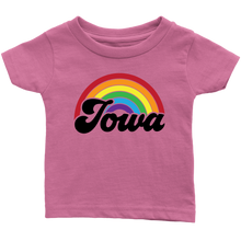 Load image into Gallery viewer, Iowa Rainbow Infant T-Shirt