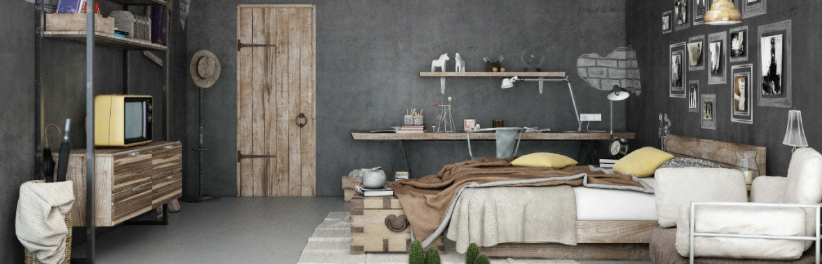 Industrial Bedroom Furniture - FROY