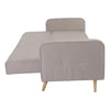 Bert Sofa Bed Light Gray