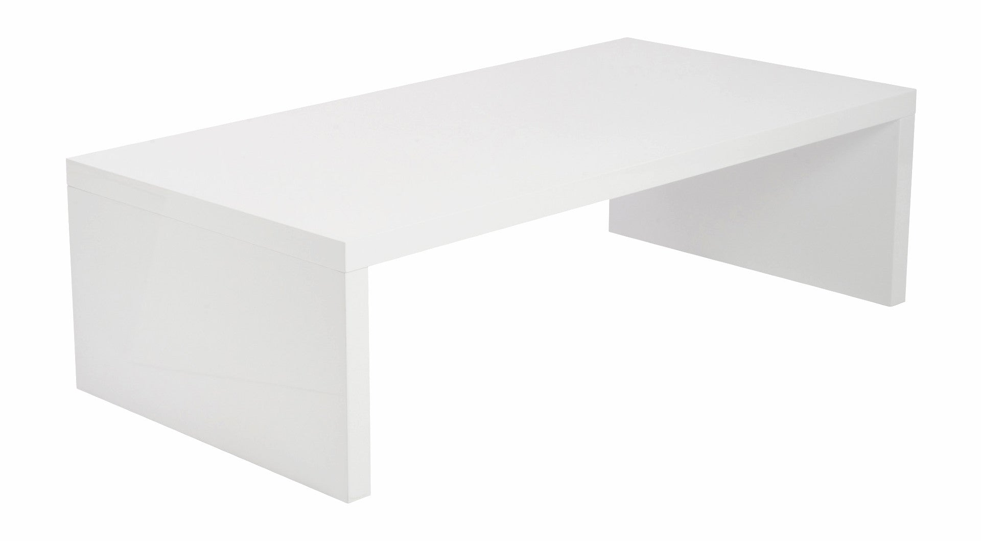 Able Coffee Table White Lacquer