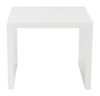 Able Side Table White Lacquer