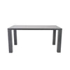 Able Dining Table Gray Lacquer