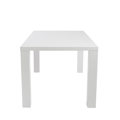 Able Dining Table White Lacquer