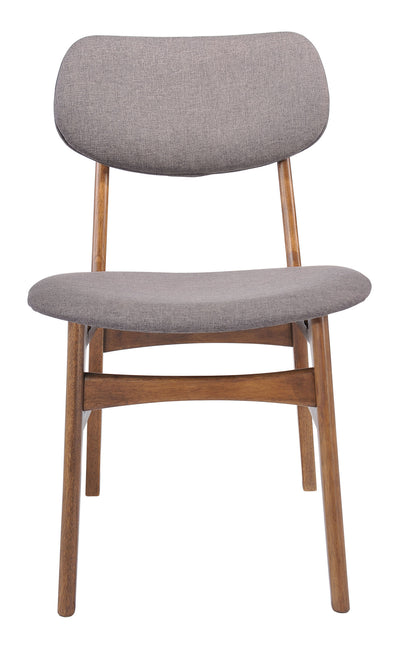 Midland Chair Flint Gray (Set of 2)