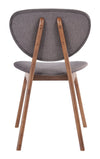 Omaha Chair Flint Gray (Set of 2)