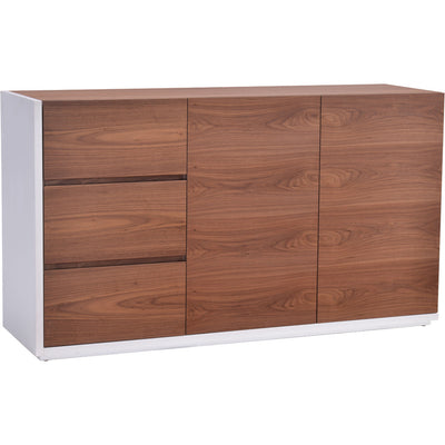 Spirit Buffet Walnut & White
