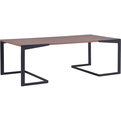 Serendipity Coffee Table Walnut & Black