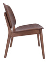 Plato Lounge Chair Walnut (Set of 2)