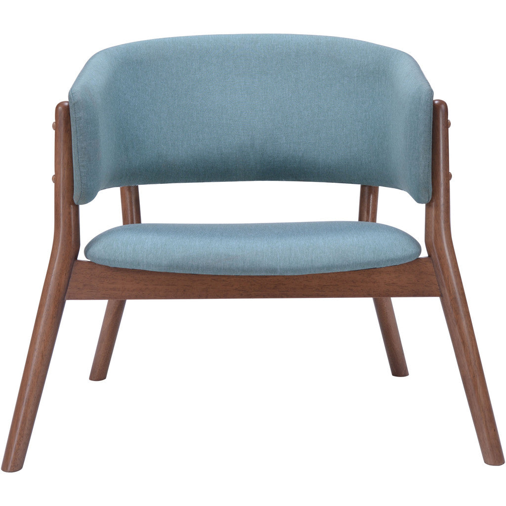 Cheerful Lounge Chair Blue (Set of 2)