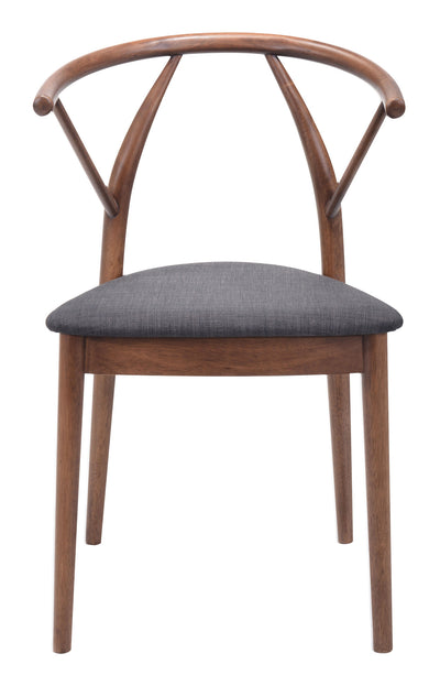 Community Dining Chair Espresso (Set of 2)