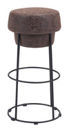 Poro Barstool Natural & Distressed