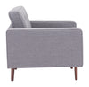 Pure Arm Chair Gray